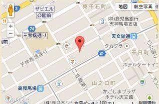 TBC鹿児島店地図